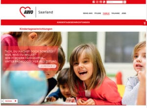Relaunch Internetautritt für die AWO Saarland
