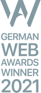 German Web Awards Winner 2021